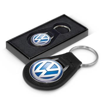 Baron-Leather-Key-Ring-Round