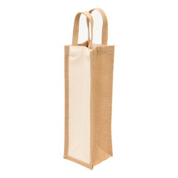 EcoJute1BottleWineBag