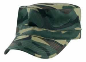 Camo-Military-Cap