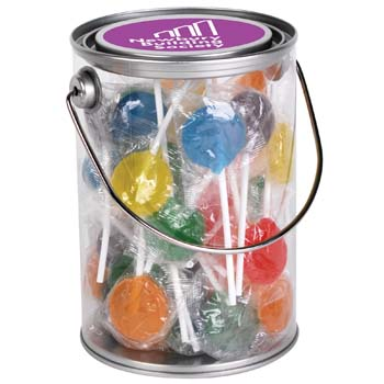 Assorted-Colour-Lollipops-in-1-Litre-Drum-Undecorated-Filled