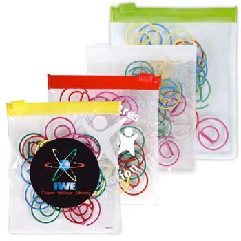 -Shape-Paperclips-in-PVC-Zipper-Pouch