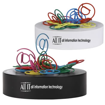 -Shaped-Paperclips-on-Paperweight-Magnetic-Base