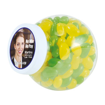CorporateColourMiniJellyBeansinContainer