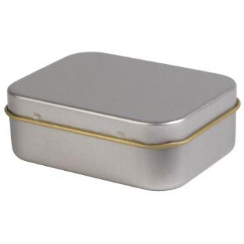 Silver-Rectangular-Tin
