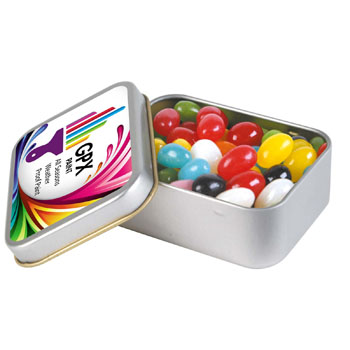 Assorted-Colour-Mini-Jelly-Beans-in-Silver-Rectangular-Tin