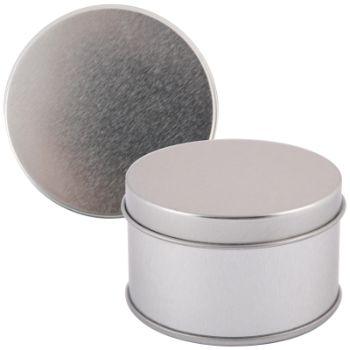 Silver-Round-Tin