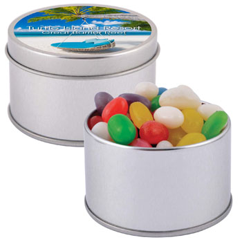 Assorted-Colour-Mini-Jelly-Beans-in-Silver-Round-Tin