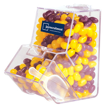 CorporateColourMiniJellyBeansinDispenser