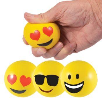 EmojiStressBallReliever