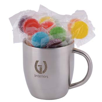 Assorted-Colour-Lollipops-in-Stainless-Steel-Double-Wall-Curved-Mug