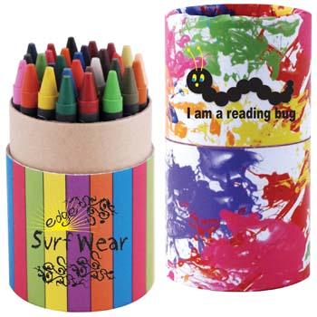Custom-Design-Assorted-Colour-Crayons-in-Cardboard-Tube