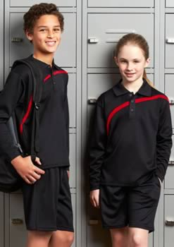 Kids-Hero-Long-Sleeve-Polo
