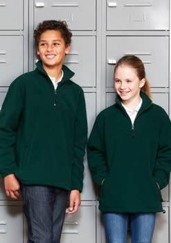 Kids-12-Zip-Poly-Fleece-Top
