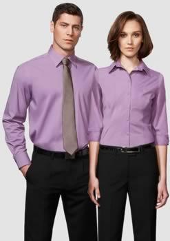 Ladies-Chevron-34-Sleeve-Shirt