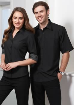 Mens-Contrast-Oasis-Short-Sleeve-Shirt
